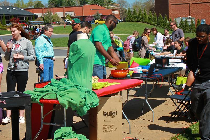 Earth Day at Gardner-Webb University.