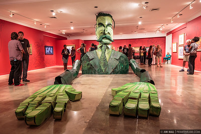 Hollywood Art & Culture Center - Wayne White June 12th 2015