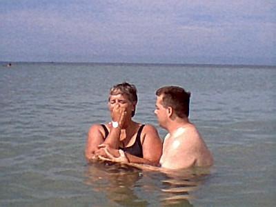 Sandy's Baptism