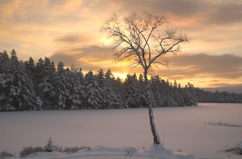 Sunrise on Butler Lake