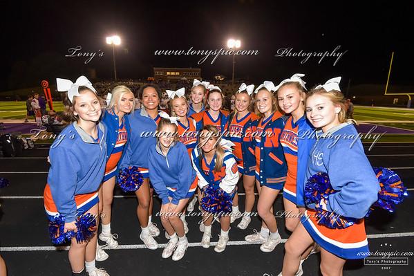 Cheerleaders @ Gilmer 20 Oct 2018