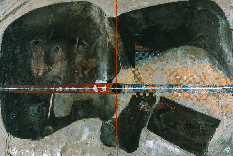 Painted Wall #33 (1996)