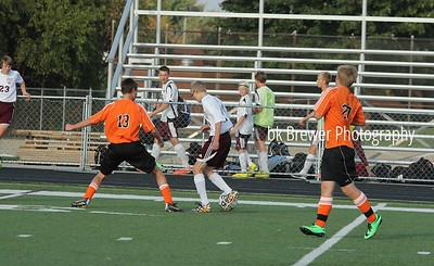 HCHS freshman soccer vs Byron Center