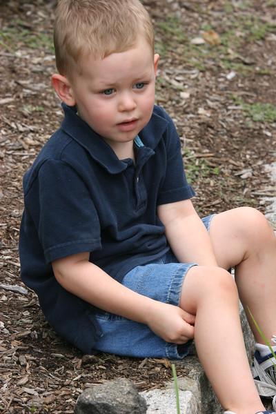 Aaron at Zoo