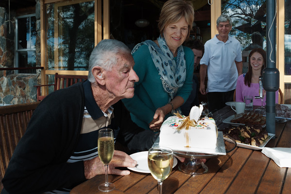 Dad's 90th