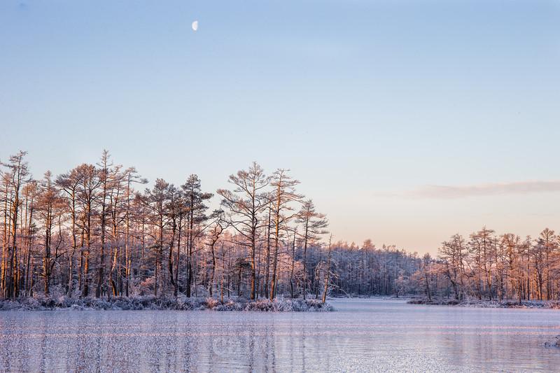 Skaista ezers ziemā, Babītes nov.
