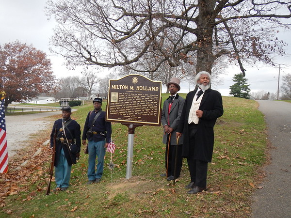 "Holland Marker Dedication (O""Grady photos)"