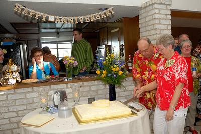Kay & Doug Monzingo 50th Wedding Anniversary