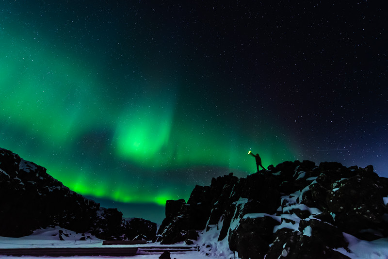 Adventuring Under The Northern Lights - Iceland