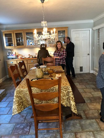 Thanksgiving at Dana & Phil's new home 2018