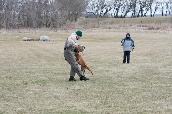 4-13-08 Schutzhund training