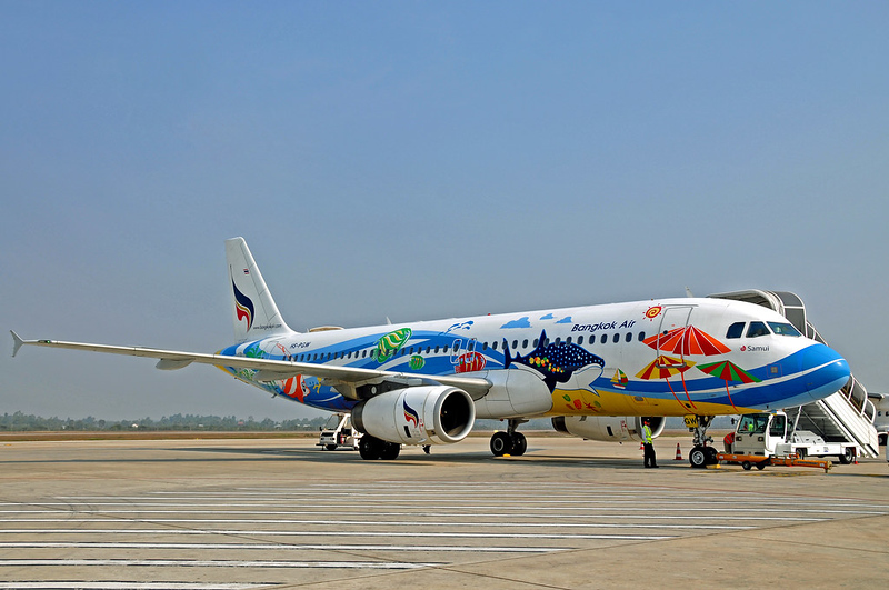 Bangkok Airways aircraft © Dennis Jarvis