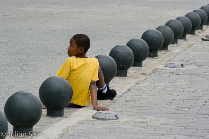 Boy in Cuba