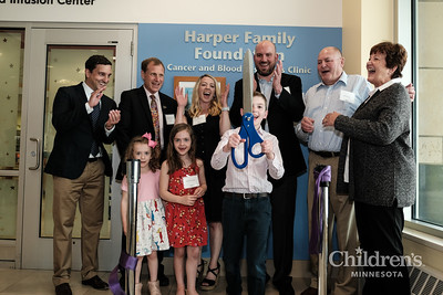Harper Family Foundation's Cancer and Blood Disorders Clinic naming ceremony