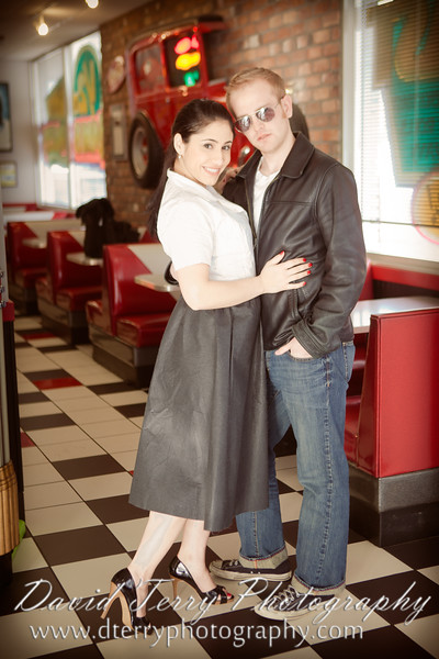 Burger Stop - Old Fashioned Engagements - David Terry Photography