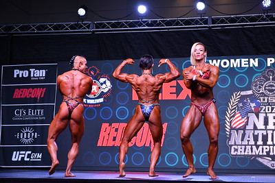 Women's Physique Open Overall