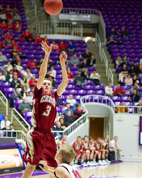 Spanish Fork Battles Cedar in Region 3A Playoffs