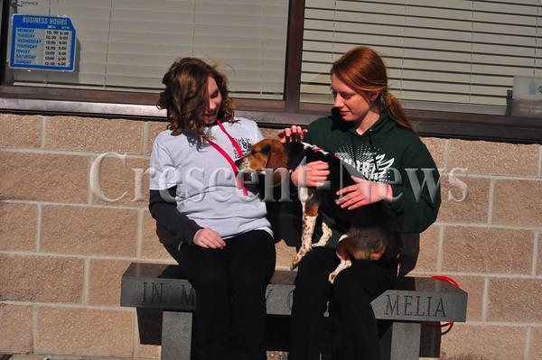 NEWS St. John Students at Humane Society