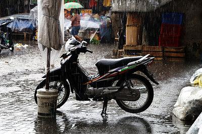 Ubud : rain or shine