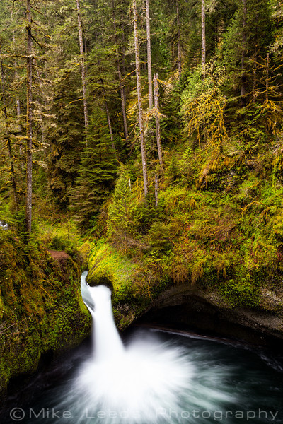 Punchbowl Falls, Eagle Creek Oregon.