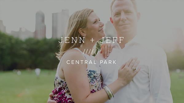 JENN + JEFF ////// CENTRAL PARK