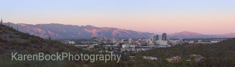 Tucson City Skyline