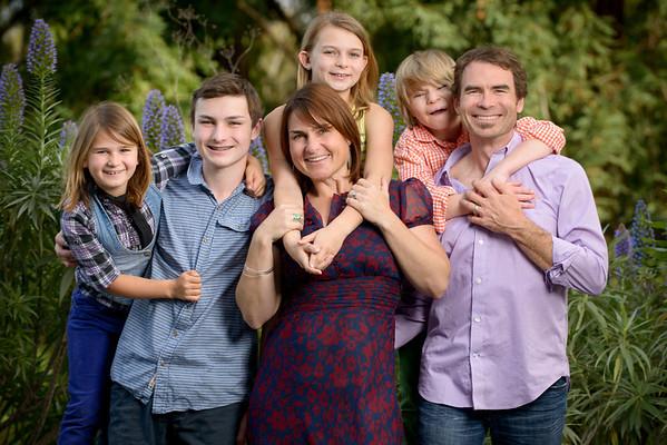 Nancy + Bill & Kids (Family Photography) @ Private Residence, Santa Cruz, California