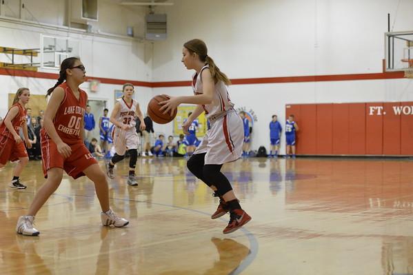 FWC Basketball Girls 8th  2-9-2016