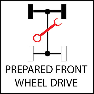 Prepared Front Wheel Drive Cars