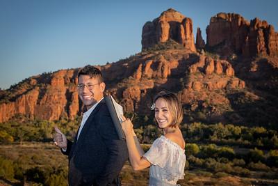 Sarah & Jon's Sedona Wedding