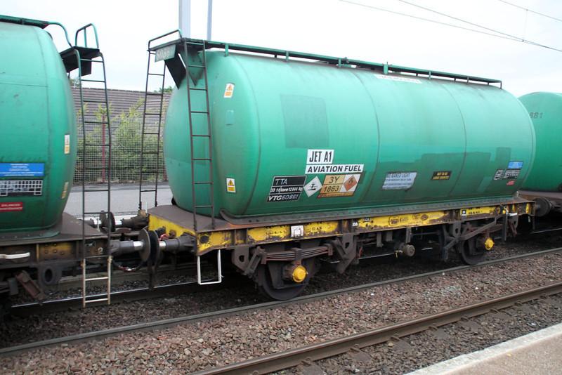 TTA 60861 In 6z47 Prestwick-Grangemouth at Coatbridge Central 02/07/12