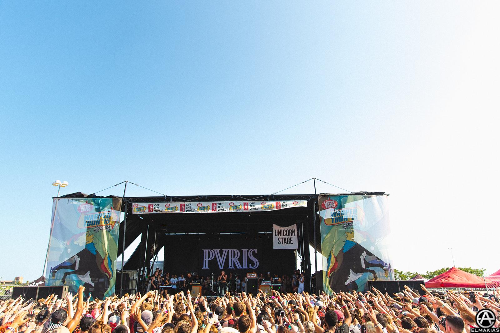 PVRIS live at Vans Warped Tour 2015 by Adam Elmakias