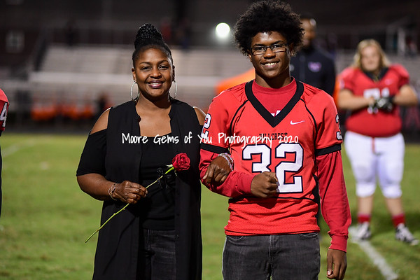 2019 Hillcrest fall senior night