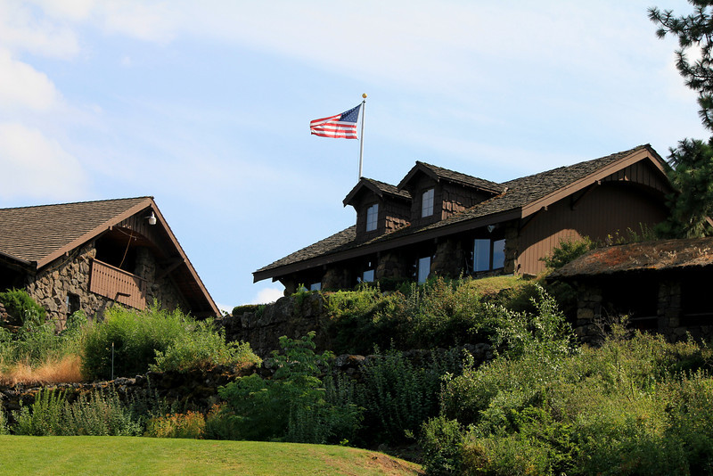 Club House, Indian Canyon GC,  Spokane, Wa