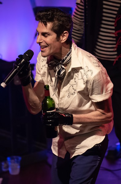 Perry Farrell at the World Cafe