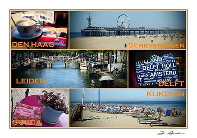 Den Haag, Leiden, Delft, Gouda
