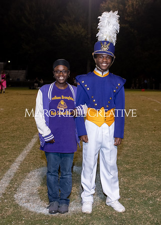 Broughton varsity football vs Cardinal Gibbons. Band and Dance Team Senior Night. October 25, 2019. MRC_3720