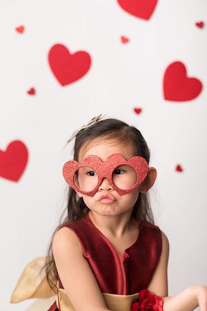 Leila and Adeline's Valentine Mini