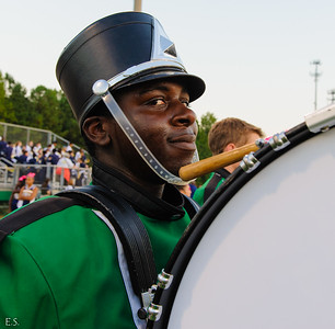 2012-10-06 Marching Band - Wheeler Football Game