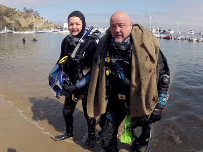 Avalon Underwater Cleanup 2012