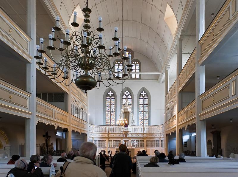 Arnstadt, Bachkirche, Blick nach Osten