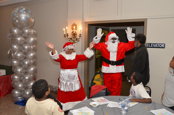 Parks and Recreation Breakfast with Santa 12/08/2012