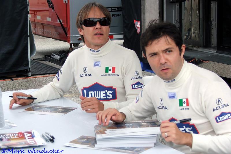 #15 Adrian Fernandez/Luis Diaz