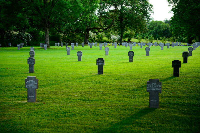 German Cemetery in Orglandes