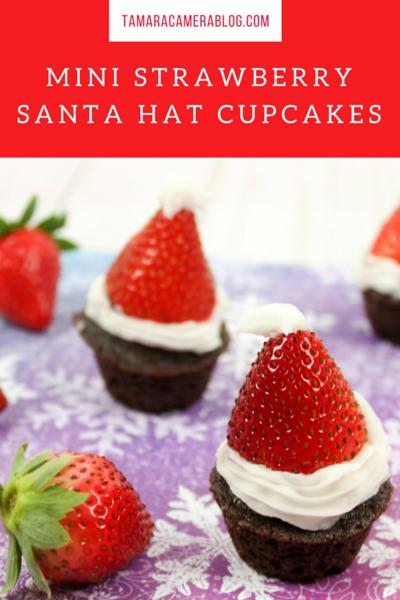 Mini Strawberry Santa Hat Cupcakes.png