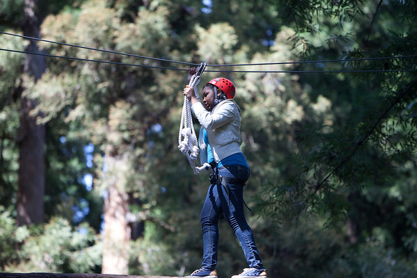 Sequoia Adventure Course - Easter Weekend 2011