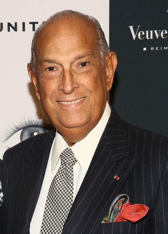 . Oscar de la Renta attends 2013 Icons Of Style Gala  at Mandarin Oriental Hotel on September 19, 2013 in New York City.  (Photo by Astrid Stawiarz/Getty Images)