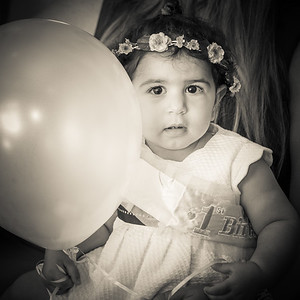 Emma's First Birthday Party 10-01-17