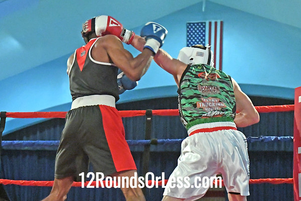 B5 Brandon McCollum, BG, Raul Torres BC -vs- Tyler Mees, RG, Adrenaline Acad, 142#, Novice