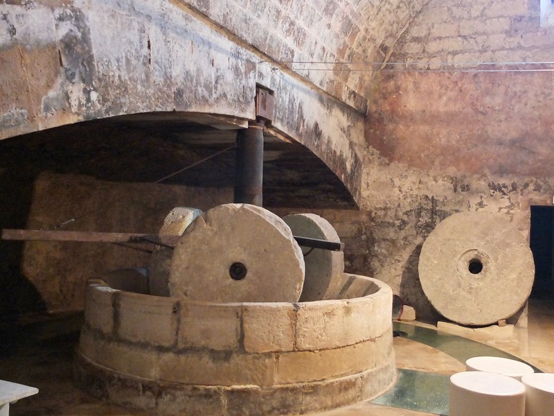 ancient olive press